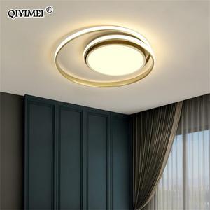 Image 2 - Modern Ceiling Lights LED Lamp For Living Room Bedroom Study Room White black color surface mounted Ceiling Lamp Deco AC85 265V