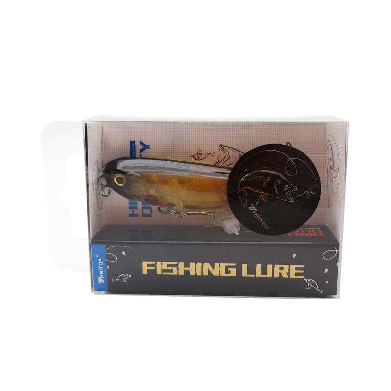 Купить с кэшбэком Thritop New Fishing Lures 5g 50mm TP087 High Quality Hooks 5 Colors For Optional Hard Bait Floating Fishing Wobblers