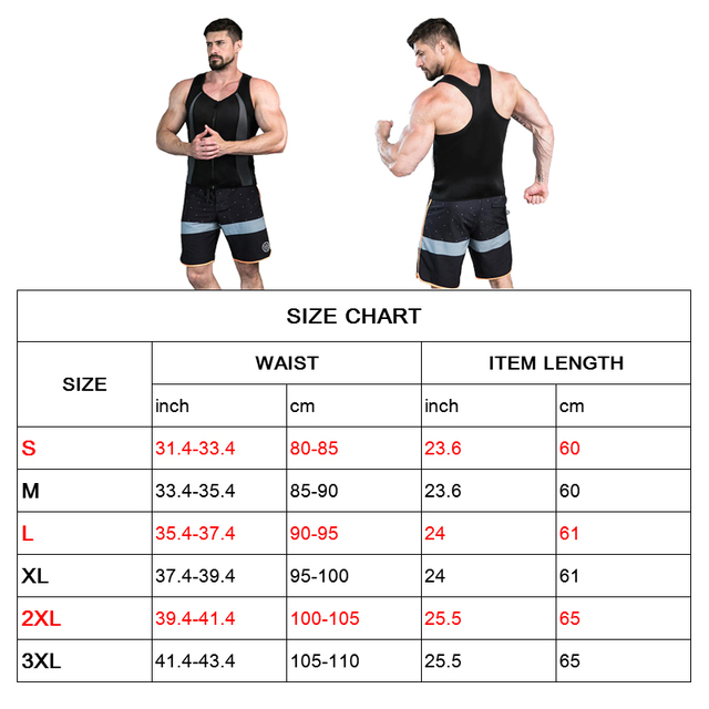 Body Shaper Men Waist Trainer Slimming Belt Tight Underwear Black Gray Camisa Neoprene Vest Hot Sweat Workout Tank Top Zipper 3