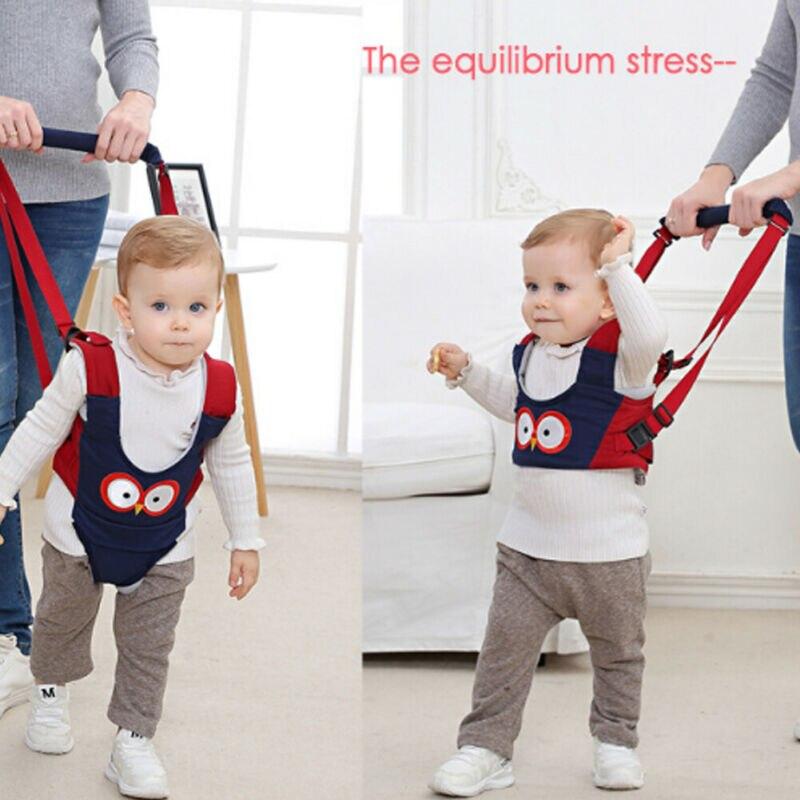 Handheld Baby Walker Toddler Walking Helper Kid Safe Walking Protective Belt