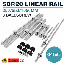 Linear-Rail-Guide Router/grinding-Machine for Ball-Screw Miniature SBR20 3 650/1050mm