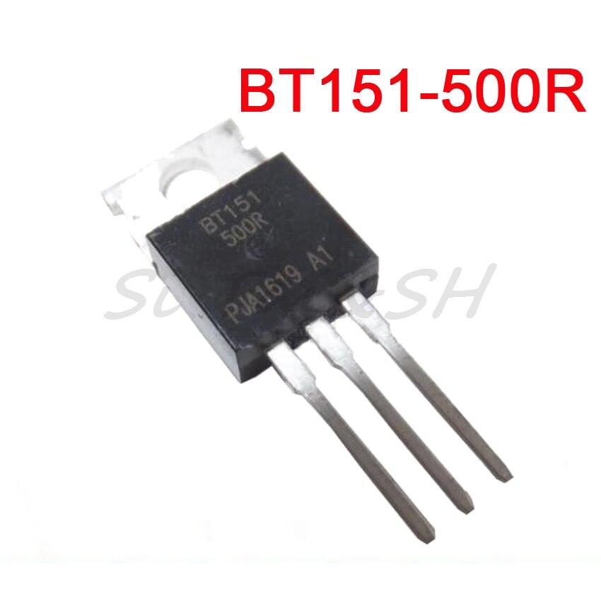 10PCS BT151-500R TO-220 BT151-500 TO220 BT151 Новый и оригинальный IC
