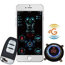 Cardot démarreur à distance 4g, Gps, Gsm, alarme de voiture, sans clé, bluetooth, nouveau, alarme de voiture, livraison gratuite, russe
