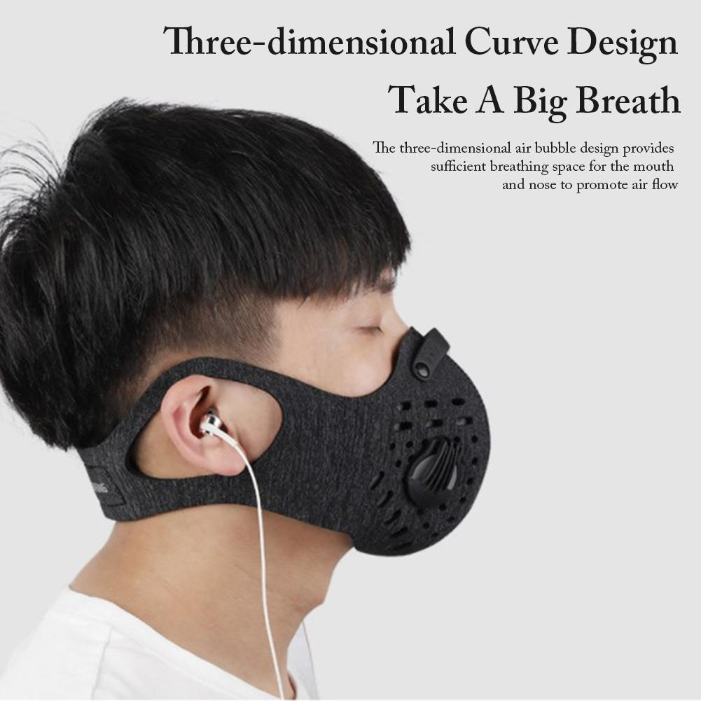 Anti-pollution Cycling Mask Washable Dustproof Reusable Air Face Mask Shield