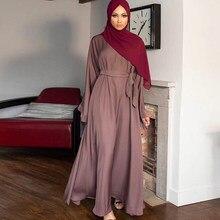 Abaya – Robe Maxi Mode musulmane pour femmes, Hijab, Kaftan, Islam, vêtements africains