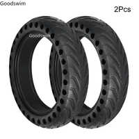 for Xiaomi Mijia M365 Scooter Skateboard Tyre Solid Hole Tires Shock Absorber Non-Pneumatic Tyre Damping Rubber Tyres Wheels
