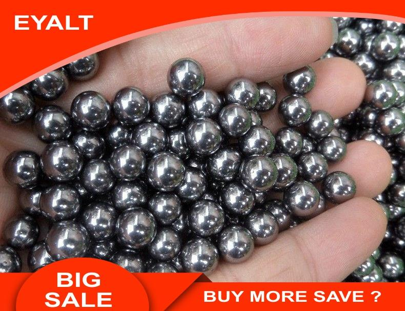 500pcs Steel Ball Bearings Bicycle Replacement Steel Ball 3-6mm Slingshot Ammo