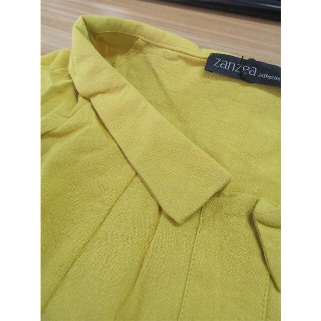 Summer Tunic Vintage Linen Blouse 5