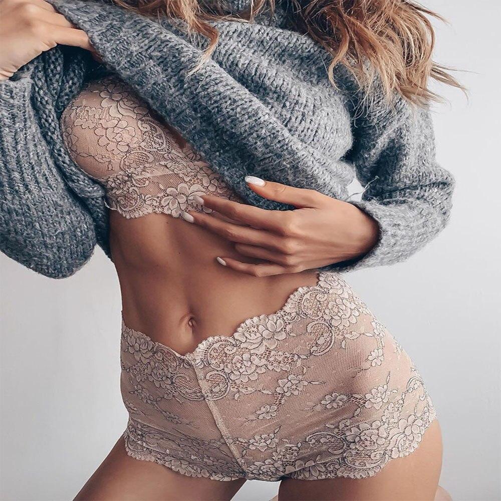 2PCS Bikini Cover Up Sexy Lingerie Set Dress Women Nightwear Underwear Sleepwear + G-string Babydoll Sexy Lady