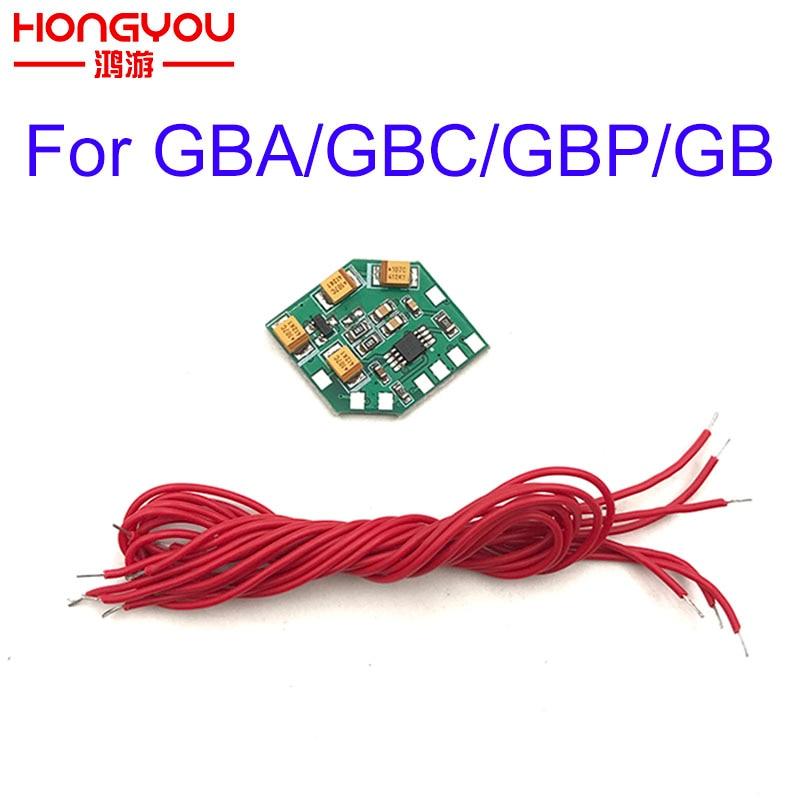 Amplificador de Áudio de som Enhancement Module DMG Eliminação EMI Compatível para Nintendo GB GBA GBC GBP
