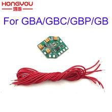 Módulo de realce de amplificador de áudio, eliminação de emi compatível com nintendo dmg gb gba gbc eur
