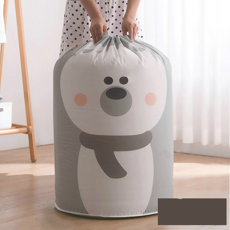 Oversized Storage Bag Dustproof Quilt Packing Bag Clothes Finishing Bag Moisture-proof Quilt Moving House Packing Drawstring Bag