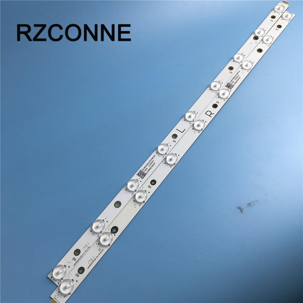 LED Backlight Strip 9 Lamp For Vizio 55'' TV Screen LBM550P0205 LBM550P0205-EW-5/LBM550P0205-ET-5 R+L P55-C1 P55-E1