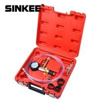 Sistema de refrigeração a vácuo automotivo radiador do carro automático recarga refrigerante & purging ferramenta calibre kit sk1088