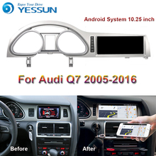 Android Radio reproductor Multimedia para auto Audi Q7 2005 ~ 2016 estéreo de Radio de navegación GPS con Bluetooth
