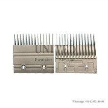 5pcs Escalator Aluminum Comb L127mm W123mm Hole Space 64mm 14T C751001B202