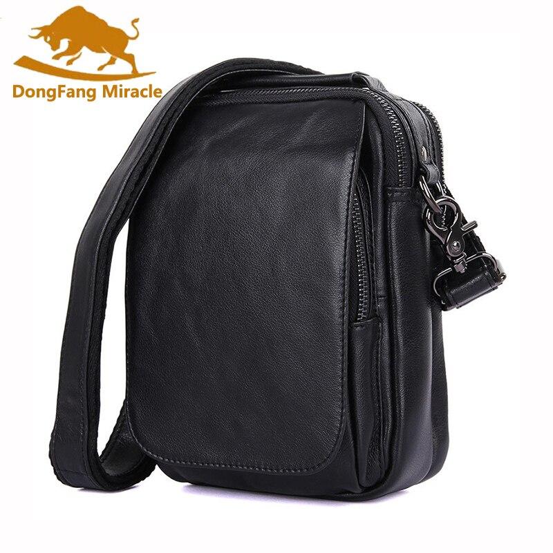 Новое поступление, повседневные мужские сумки, брендовая сумка из натуральной кожи, винтажные мужские сумки мессенджеры на одно плечо, маленькая сумка, бесплатная доставка|Сумки-кроссбоди|   | АлиЭкспресс