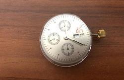 Klon 7750 Automatische Tag Datum Chronograph Bewegung ETA Valjoux Replacemet