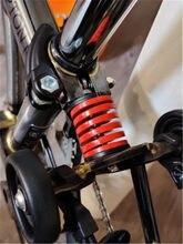 Suspension arrière de vélo pliant Brompton, amortisseur à ressort