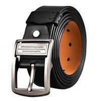 Più Grande di Formato 130 140 150 160 centimetri Cinghia per Gli Uomini Cinture In Pelle Cintura per I Jeans di Lusso di Disegno di Marca Spille fibbia Della Cintura Accessori