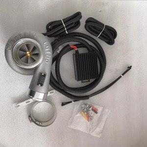 Xinyuchen электрический турбокомпрессор, Комплект нагнетателя, тяга мотоцикла, электрический турбокомпрессор, воздухозаборник для всех автомо...