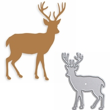 Artistic Deer Metal Cutting Dies Die Cuts For Card Making DIY Scrapbooking Album Decoration New 2019 Embossed Crafts Cards