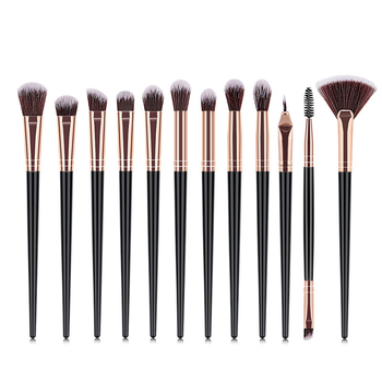 Makeup Brushes Set 1-12pcs Eye Shadow Blending Eyeliner Eyelash Eyebrow Make up Brushes Professional Eyeshadow Brushes wholesale Beauty & Health