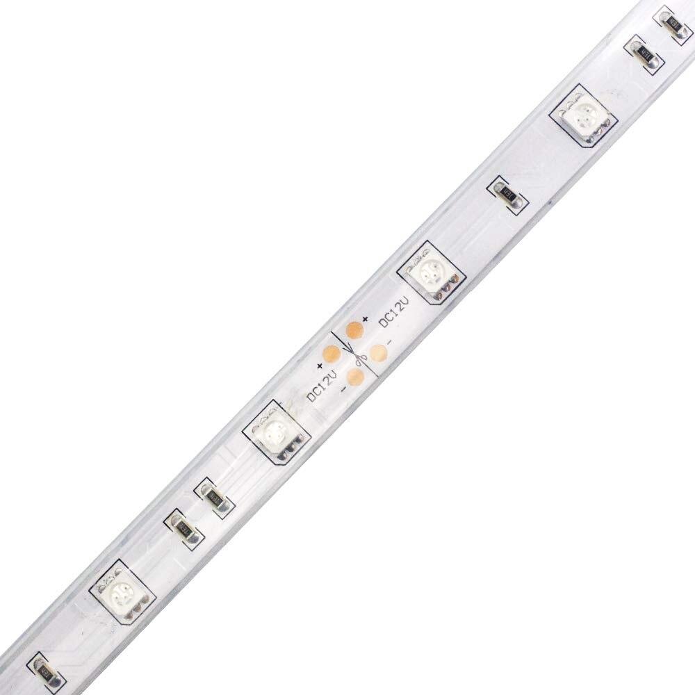 SMD5050 150 Flexible à trois puces IR LED ampoules LED s, cinq mètres DC12V, pour l'affichage multitouch, pour la Version nocturne ou la sécurité - 2