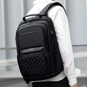 Image 5 - Fenruien mode hommes sac à dos multifonctionnel étanche 15.6 pouces pochette dordinateur USB charge sac de voyage décontracté femmes cartable