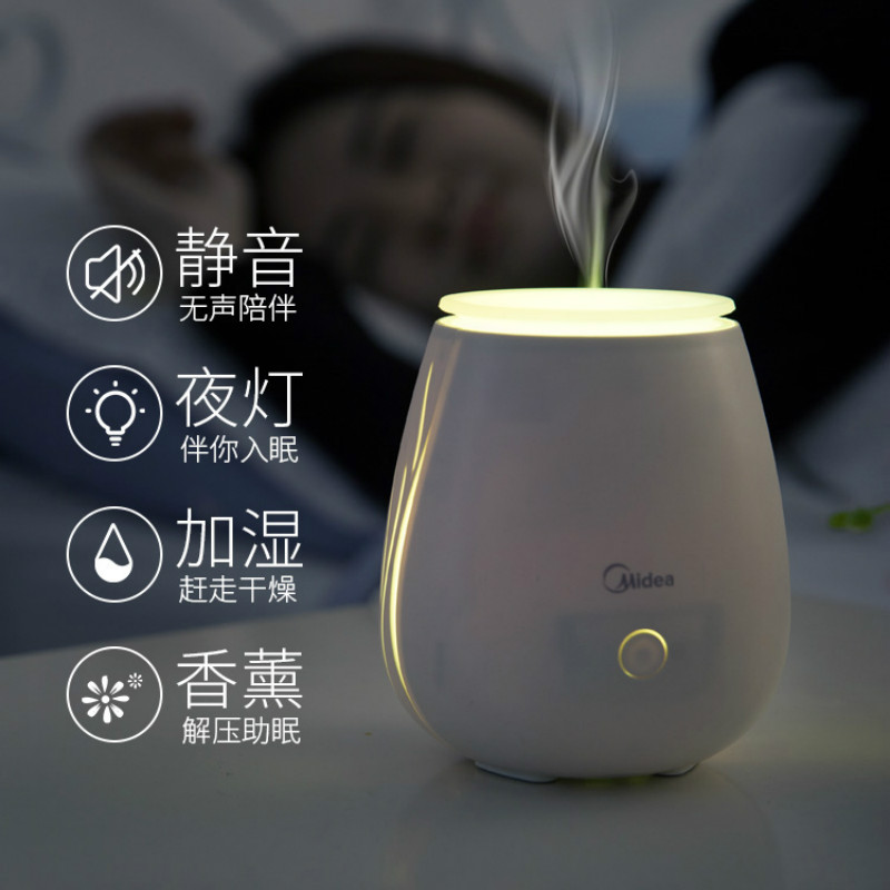 White Electric Incense Burner Mute Ultrasonic Air Humidifier Night Light Incense Holder Bruleur Bougie Aroma Oil Burner MM60XXL