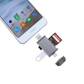 USB 3.0 Card Reader Micro SD Card Reader 2.0 For USB Micro SD Adapter Flash Drive Smart Memory Card Reader Type C Card Reader sd micro sd card reader micro usb otg adapter and usb 2 0 portable memory card reader for sdxc sdhc