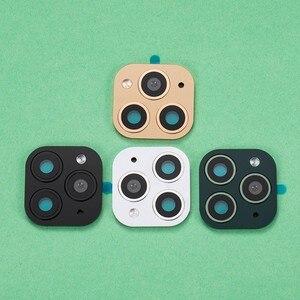 Image 1 - 50 個バックカメラレンズ保護フィルム用 X XS 最大ように見える iphone 11 プロフェイクカメラステッカー