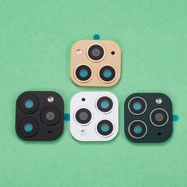 50 個バックカメラレンズ保護フィルム用 X XS 最大ように見える iphone 11 プロフェイクカメラステッカー