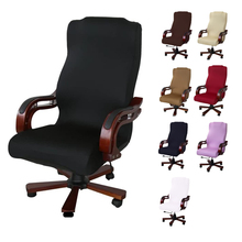 M L Sizes Office Stretch Spandex Chair Covers Anti dirty Computer Seat Chair Cover Removable Slipcovers