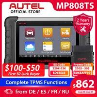CODE EDSES33 Autel-Herramienta de diagnóstico para carro, dispositivo de escaneo automotriz OBD2, lector de código TPMS funciones PK AP200 MK808 MK808TS