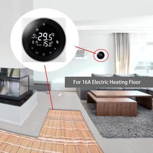 Image 5 - WiFi termostat akıllı sıcaklık kontrol elektrikli sıcak zemin termoregülatör Alexa ile çalışmak Google ev 200 240V