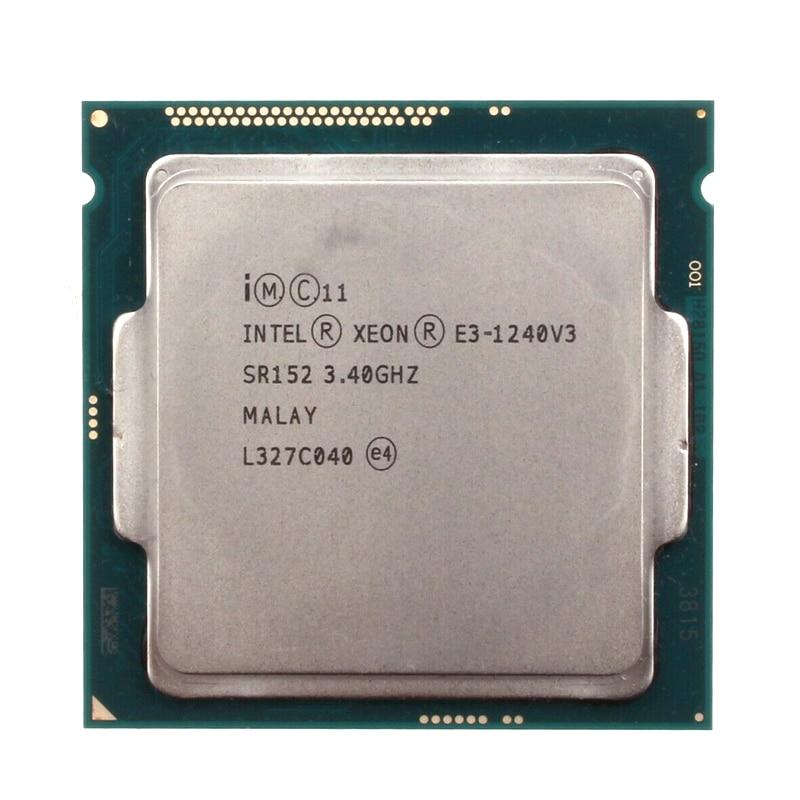Процессор Intel Xeon E3 1240 V3