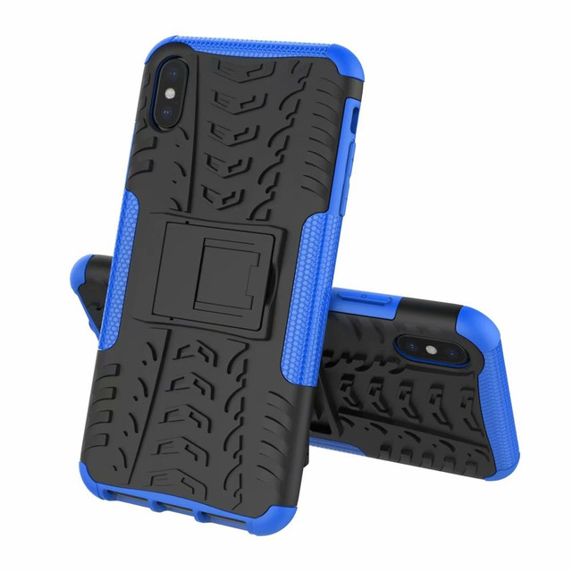Soft PC Cases For iPhone XS Max Case On XS Max Anti Shock Impact Hard Armor Full Back Cover For iPhone XS Max shells