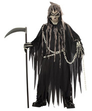 Menino halloween mr. grim traje cosplay adulto crianças horror morte diabo halloween cosplay