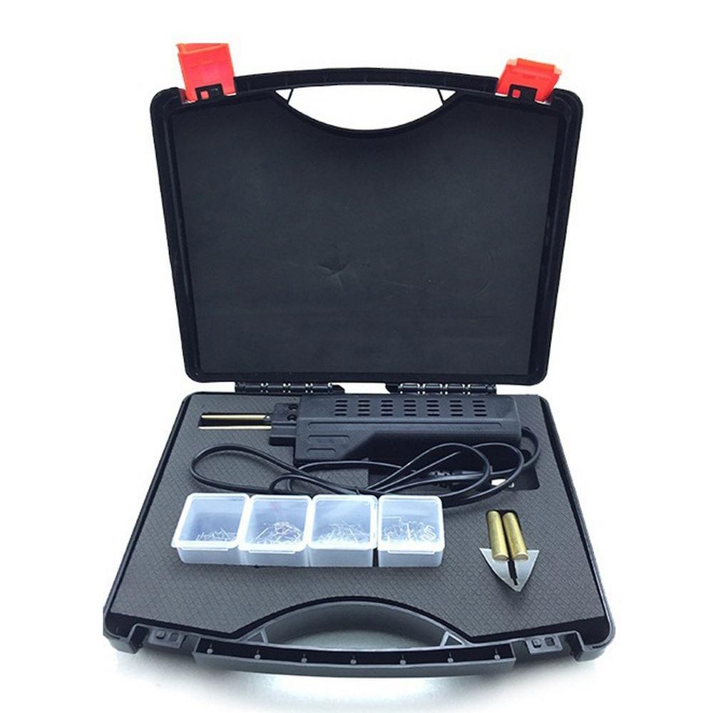 220V Hot Stapler Repair Tool for Hot Stapler Car Bumper Fender Fairing Welder Plastic Repair Kit Portable Plastic Tools Set
