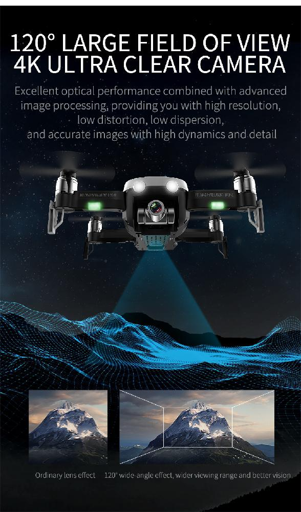 F8 Profissional FPV Vision 4K HD Camera Drone with Two-Axis Anti-Shake and GPS 22