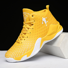 High quality basketball shoes male couple basketball shoes autumn high-top anti-skid outdoor basketball shoes sports shoes cheap R xjian CN(Origin) Medium(B M) Rubber Stretch Spandex FREE FLEXIBLE Lace-Up Spring2019 Fits true to size take your normal size