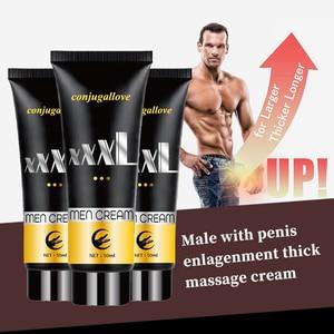 Big Man Penis Enlargement Cream 50ml Increase Erection Sex Products Blood Circulation Growth Increase Size Penis Massage Cream