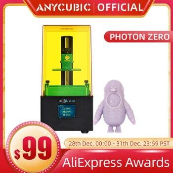 Anycubic-Impresora 3D de resina UV de corte rápido, máquina de impresión 3d...