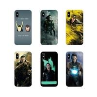 Zubehör Phone Cases Covers Für Apple iPhone X XR XS 11Pro MAX 4S 5S 5C SE 6S 7 8 Plus ipod touch 5 6 Loki Thor