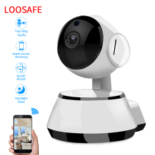 LOOSAFE 720P Wireless IP Camera Home Security Surveillance ICR Night Vision CCTV PTZ Wifi Panorama Network IP Camera CMOS H.264 Indoor Camera Drop Shipping