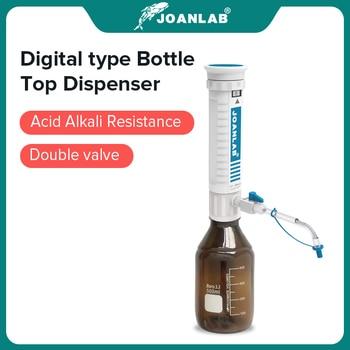 JOANLAB Official Store Bottle Top Dispenser Adjustable Quantitative Laboratory Dispenser Autoclavable Lab Equipment With Bottle 1