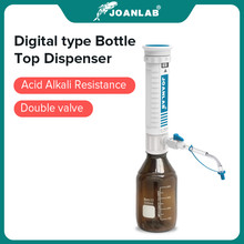 JOANLAB Official Store Bottle Top Dispenser Adjustable Quantitative Laboratory Dispenser Autoclavable Lab Equipment With Bottle