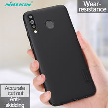 Nillkin Case For Samsung Galaxy M30 Frosted Shield Hard Anti-fingerprint shockproof Back Cover For Samsung Galaxy M30 Phone Case for samsung galaxy note8 fitted shockproof back cover anti skid anti fingerprint silicone soft black tpu phone case