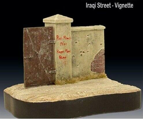 Street  Ruins Base Length 14cm Width 10cm High 10cm  Resin Figure Model Kits Miniature Gk Unassembly Unpainted